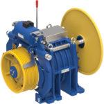 Immagine del gearless con sala macchine MGX53.